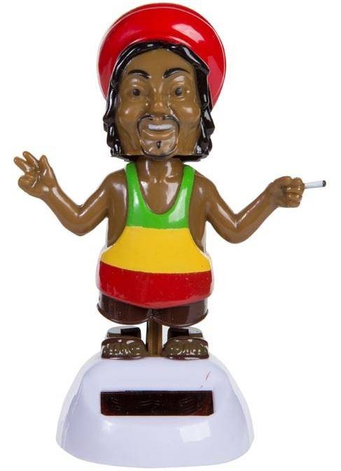 Solární postavička - Rastafarián