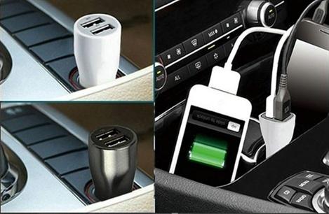 Univerzální nabíječka do auta s redukcí 3v1