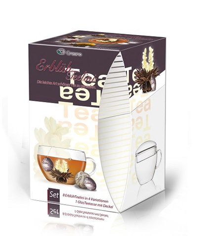 Kompletní dárková sada Tealini s černým čajem