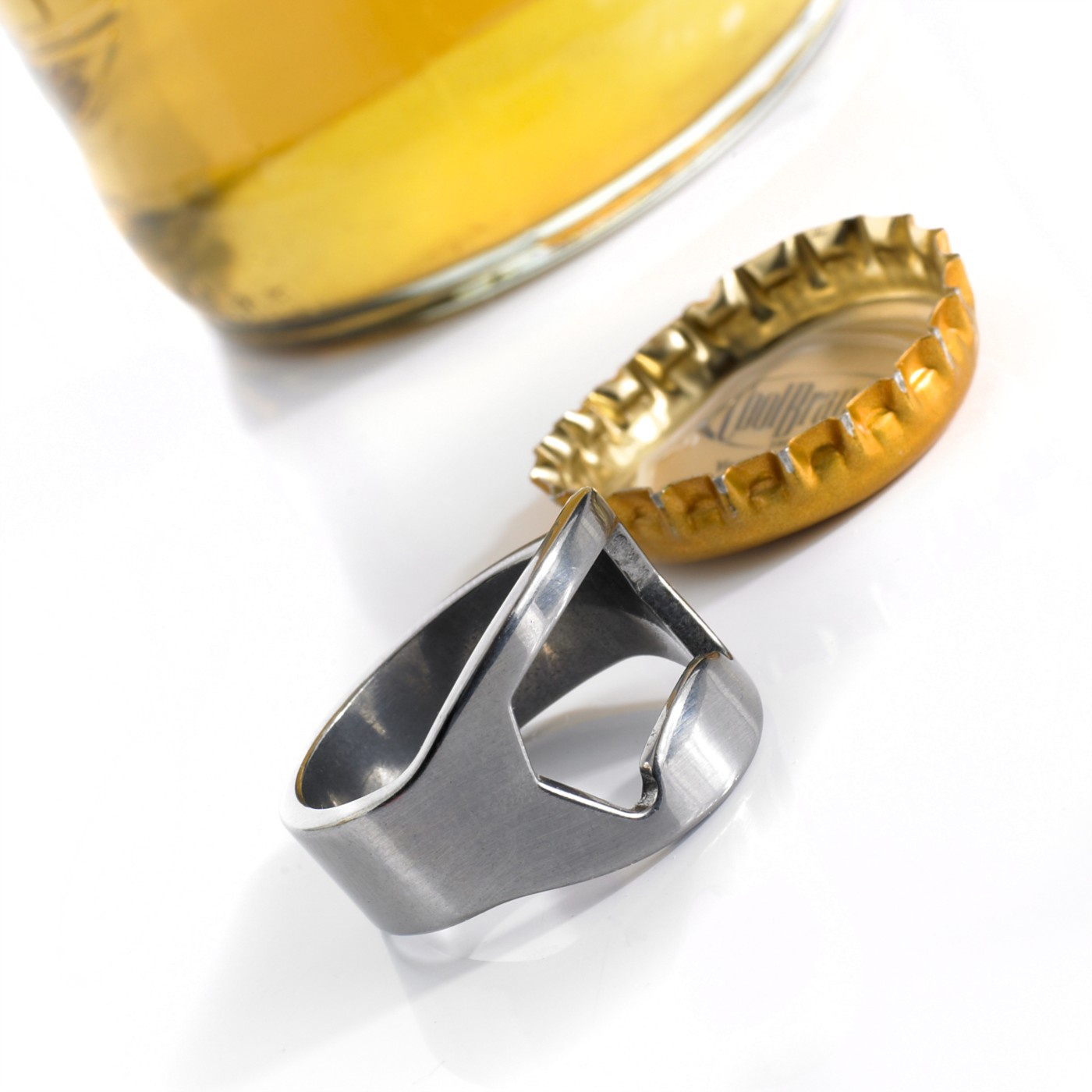 Prstenový otvírák lahví