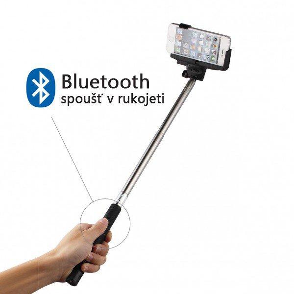 Ruční selfie stativ - s dálkovým ovládáním