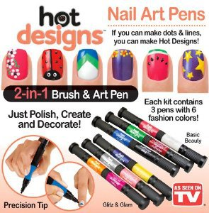 Kreativní nehtová sada Hot designs