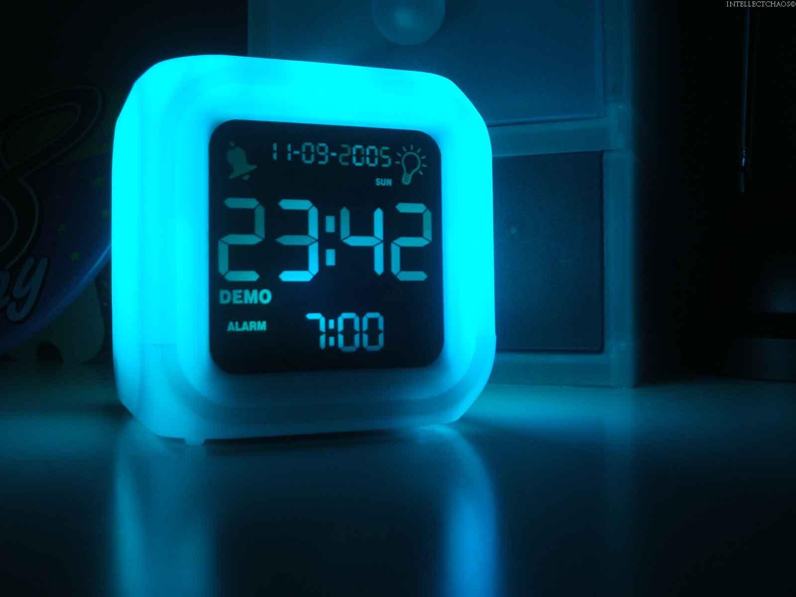 Duhový budík - Aurora Clock
