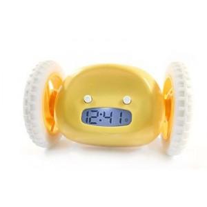 Clocky - utíkající budík - Žlutý