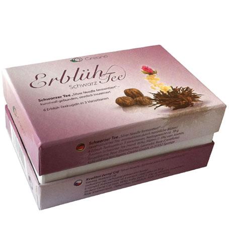 Elegantní dárkové balení - 6 ks, černý čaj