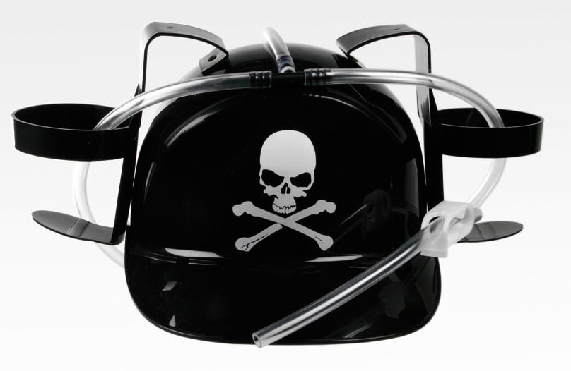 Pivní helma - pirátská