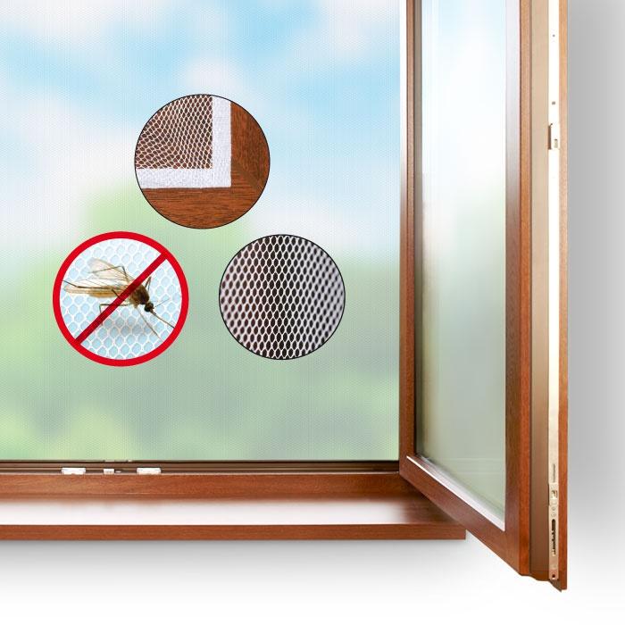 Síť proti hmyzu do okna