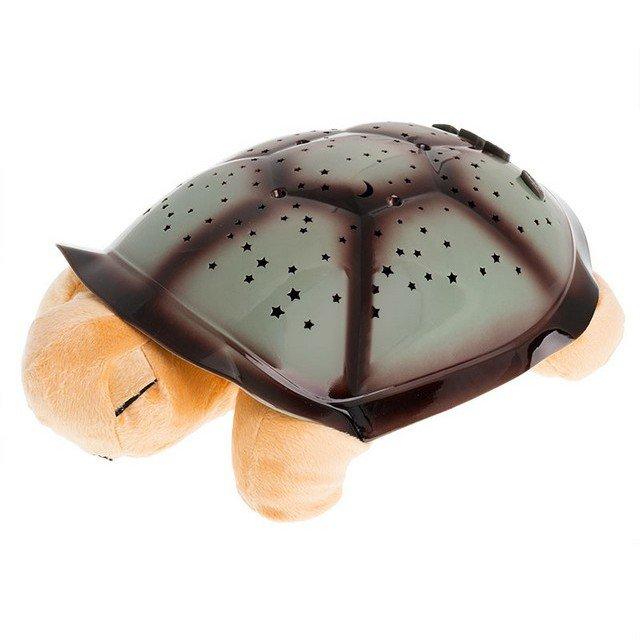 Magická želva plyšová svítící noční želva