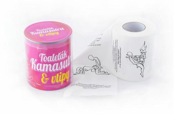 Toaletní papír - Kamasutra humor