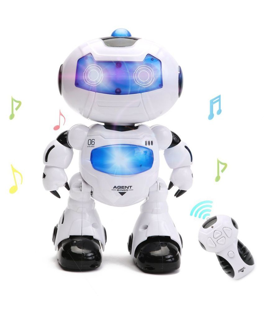 Agent Bingo - robot na dálkové ovládání