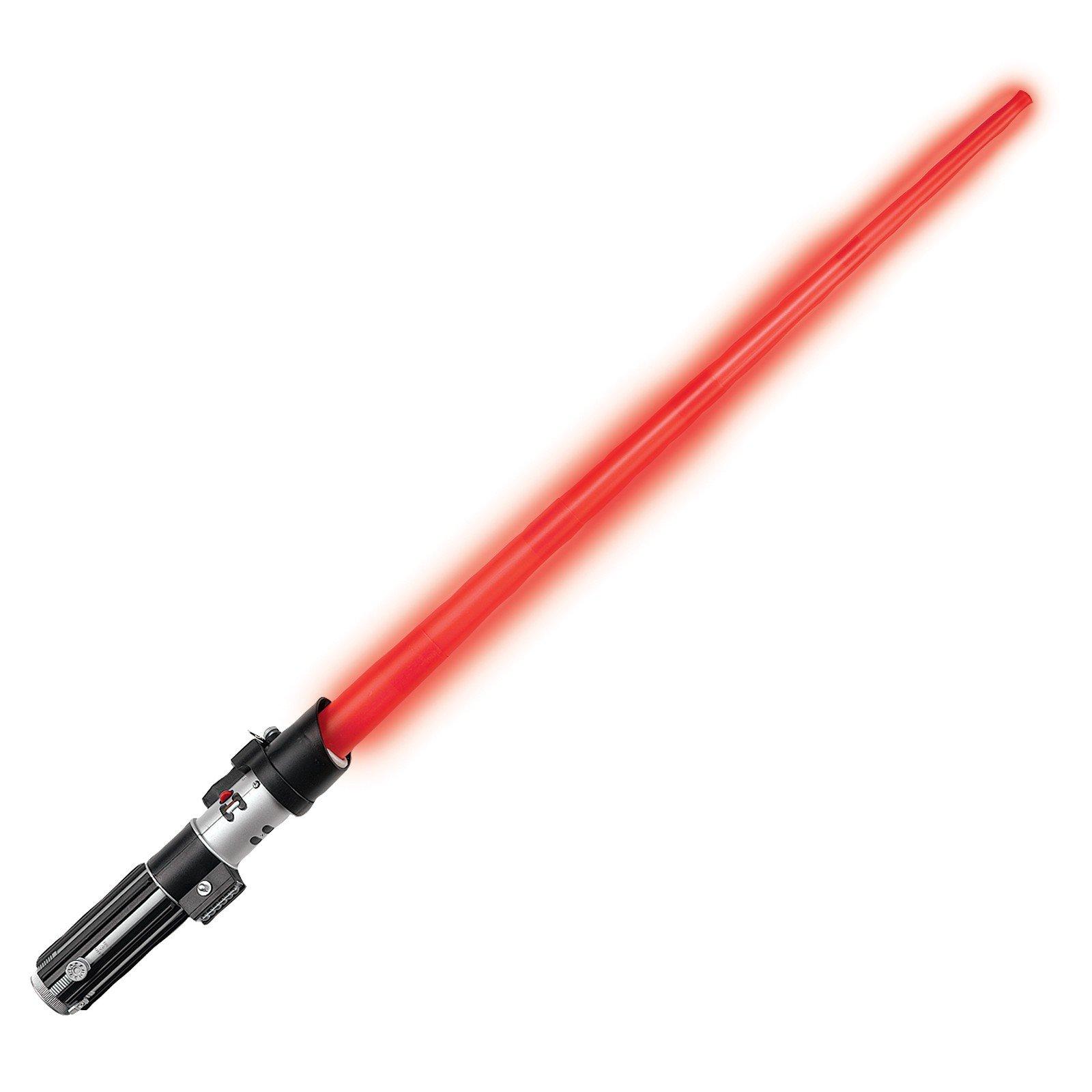 Světelný meč se zvukem - červený