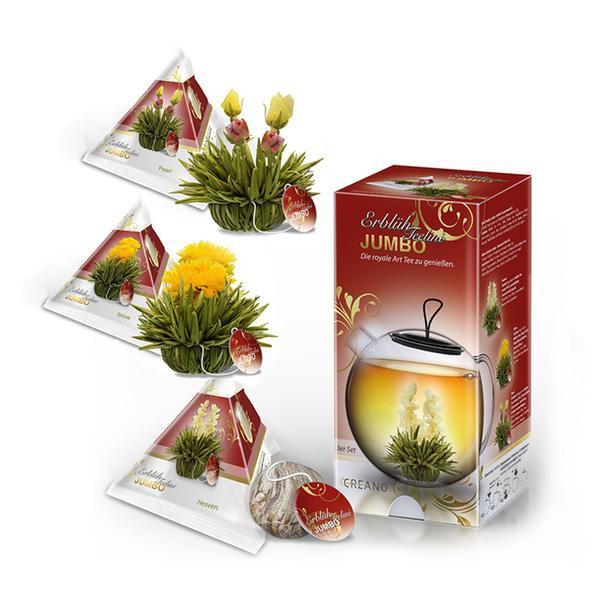 Elegantní dárkové balení Jumbo - bílý čaj 3ks