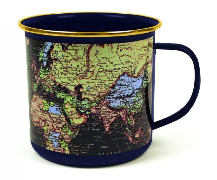 Luxusní plecháček s mapou světa