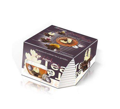 Elegantní dárkové balení Tealini s černým čajem 8 ks