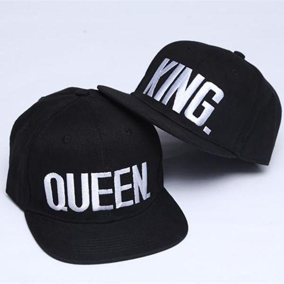 Párové čepice King and Queen