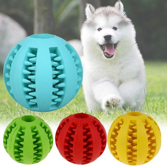 Gumový žvýkací míček pro psy
