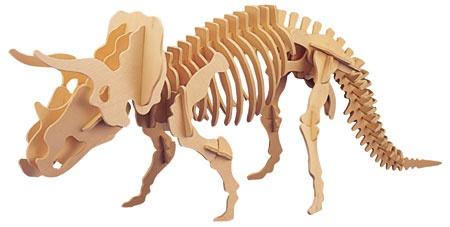 3D puzzle dinosaurus - Triceratops