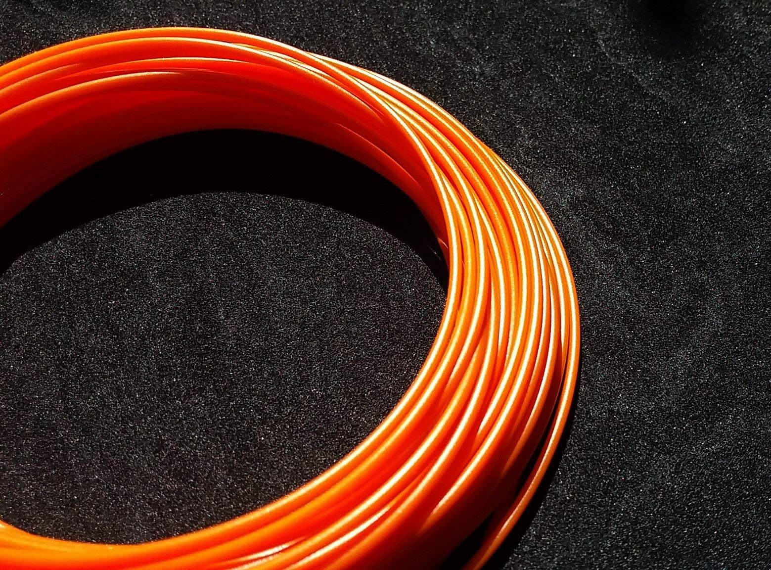 Náplň do 3D pera s LCD displejem - oranžová