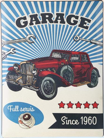 Americká cedule - 1960 Garage