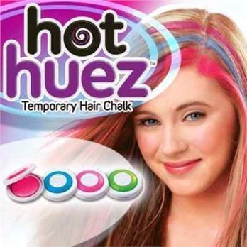 Barevné křídy na vlasy - Hot Huez
