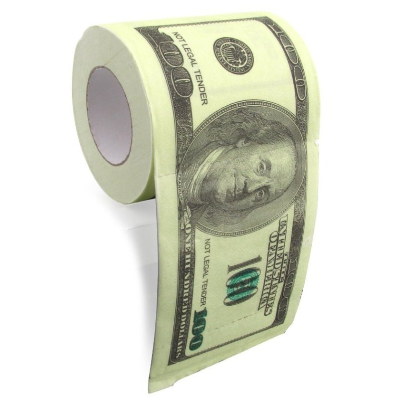 Toaletní papír - dolary