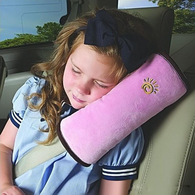 Cestovní polštář - do auta na pás