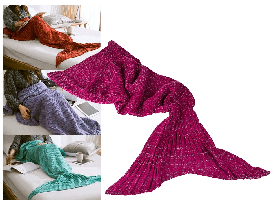 Deka mořská panna - fialová