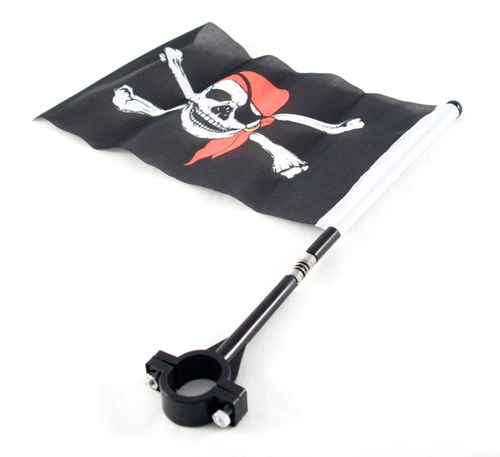 Pirátská vlajka na řídítka