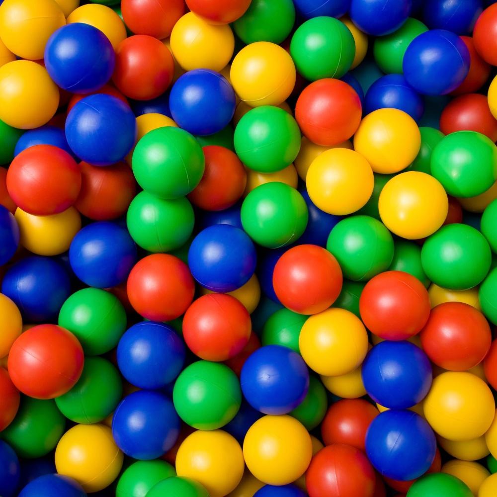 Plastové míčky - 50 ks