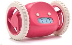Clocky - utíkající budík - Růžový