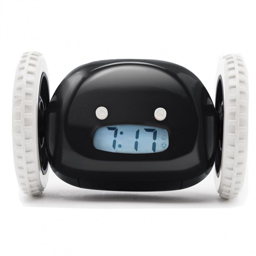 Clocky - utíkající budík - Černý