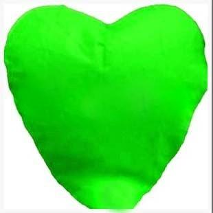 Lampion štěstí - srdce zelené