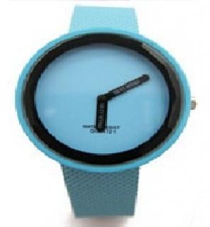 0b14cd56d Silikonové hodinky Modern round - tmavě modré | Bestdarky.cz