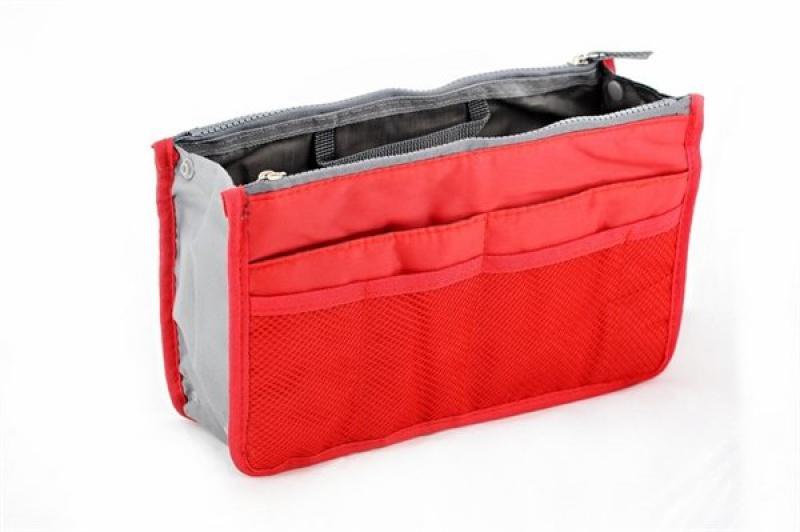 Organizér do kabelky - červený  948bf7fc3d9