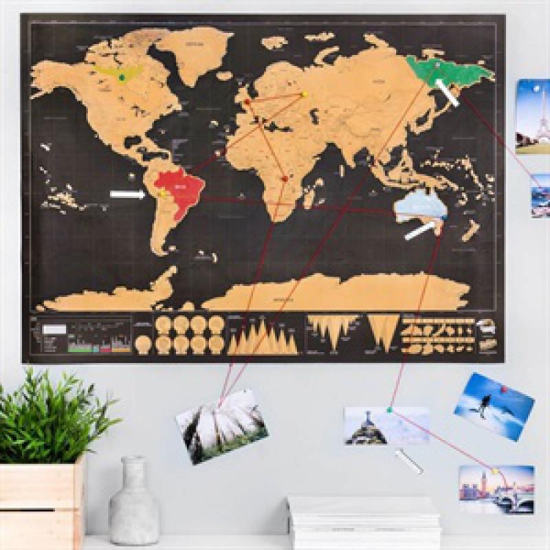 Stiraci Mapa Sveta Deluxe Cerna Bestdarky Cz