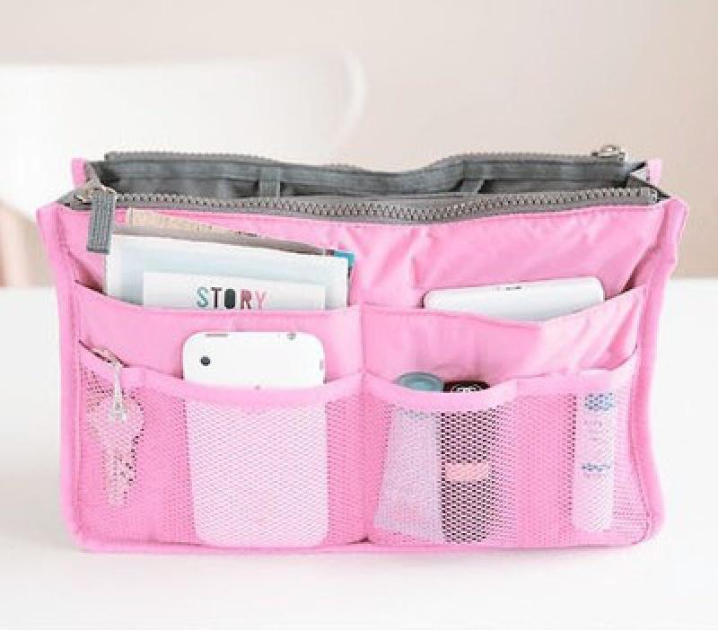 Organizér do kabelky - růžový  b2da69dd7e3